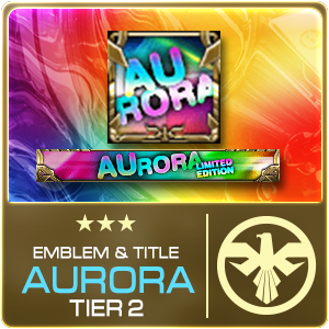 SET EMBLEM TITLE AURORA GEN2 TIER 2