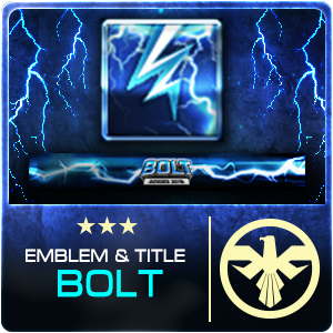 SET EMBLEM TITLE BOLT