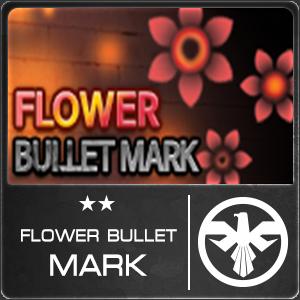 Flower Bullet Mark (1 ชิ้น)
