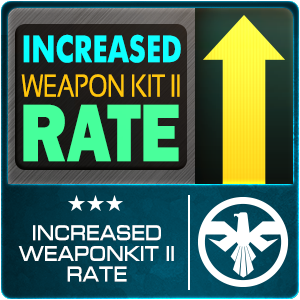 Increased WK II Rate (2 Days)