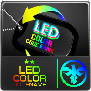 LED Color Codename (7 Days)