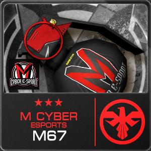 M CYBER ESPORTS M67 (Permanent)