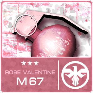 ROSE VALENTINE M67 (Permanent)