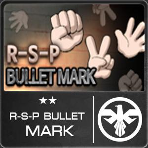 R-S-P Bullet Mark (1 ชิ้น)