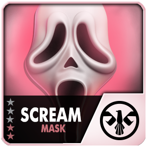 SCREAM MASK (30 Days) (Selected)