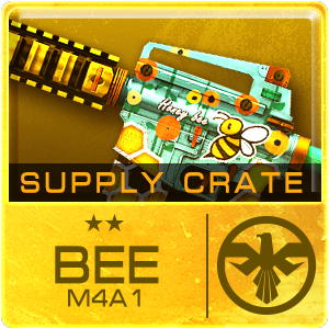 SUPPLY CRATE BEE M4A1 (1 Package)