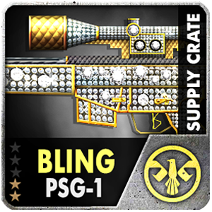 Supply Crate BLING PSG-1 (15 Pieces)