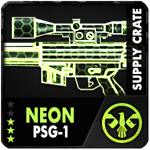 Supply Crate NEON PSG-1 (7 Pieces)