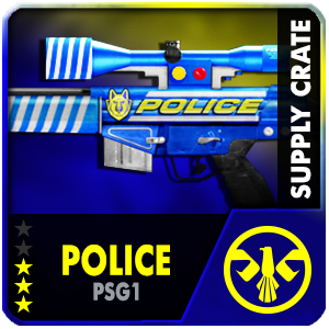 Supply Crate POLICE PSG-1 (5 Pieces)