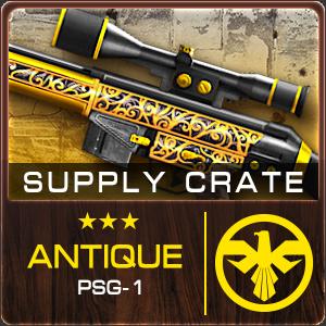 Supply Crate ANTIQUE PSG-1 (25 Pieces)