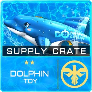 Supply Crate DOLPHIN TOY (15 Pieces)