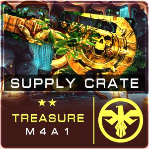 SUPPLY CRATE TREASURE M4A1 (15 ชิ้น)