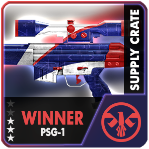 Supply Crate WINNER PSG-1 (1 Packages)