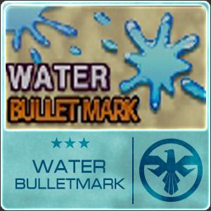 Water Bullet Mark (1 ชิ้น)