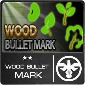 Wood Bullet Mark