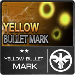 Yellow Bullet Mark (1 ชิ้น)
