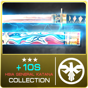 +10S HSIA GENERAL KATANA COLLECTION (Selected)