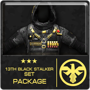 13th BLACK STALKER SET Package (30 Days)
