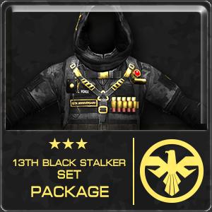 13th BLACK STALKER SET Package (30 Days)