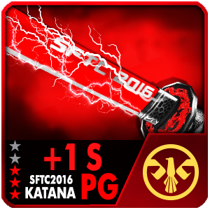 +1S SFTC 2016 KATANA PG COLLECTION (SELECTED)