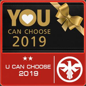 U Can Choose 2019 (เลือกปืนถาวร 1 ชิ้น)