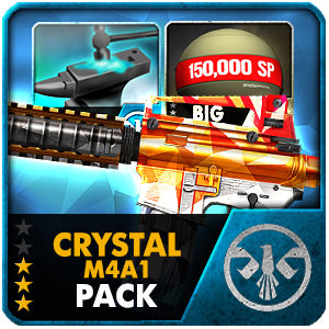 CRYSTAL M4A1 PACK