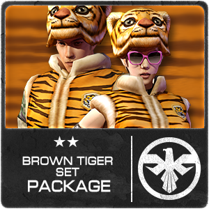 BROWN TIGER PACKAGE (14 Days)