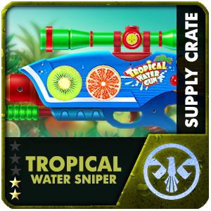 Supply Crate TROPICAL WATER SNIPER (1 Piece)