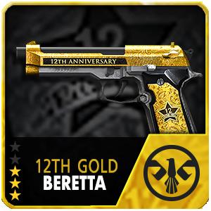 12TH GOLD BERETTA (Permanent)