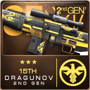 15TH DRAGUNOV 2ND GEN (Permanent)