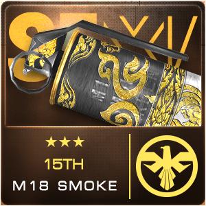 15TH M18 SMOKE (Permanent)