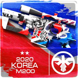2020 KOREA M200 (Permanent)