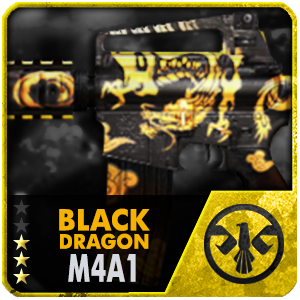 BLACK DRAGON M4A1 (Permanent)