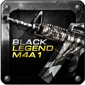 BLACK LEGEND M4A1 (Permanent)