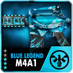BLUE LEGEND M4A1 (Permanent)