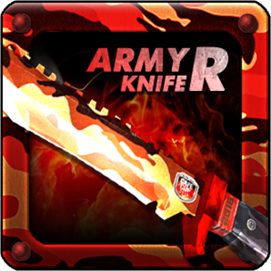 CAFE CUP ARMY KNIFE R (Permanent)