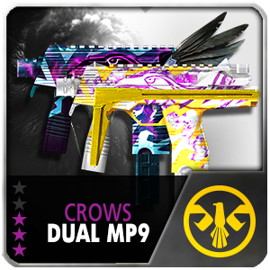 CROWS DUAL MP9 (Permanent)
