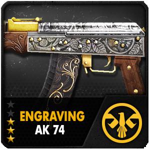 Engraving AK74 (ถาวร)