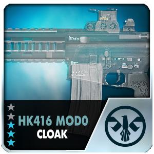 HK416 MOD0 CLOAK (Permanent)