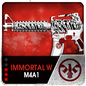 IMMORTAL WHITE M4A1 (Permanent)