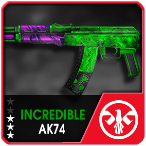 INCREDIBLE AK74 (Permanent)