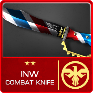 INW COMBAT KNIFE (Permanent)