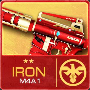 IRON M4A1 (Permanent)