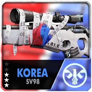 KOREA SV-98 (Permanent)