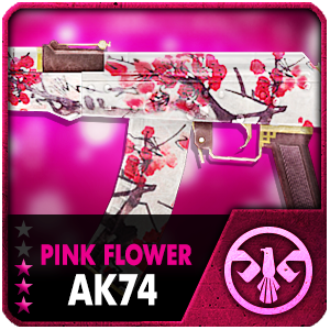 PINK FLOWER AK74 (Permanent)