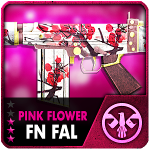 PINK FLOWER FN FAL (30 Days)