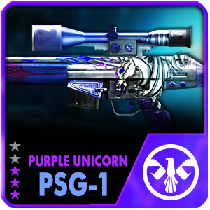 PURPLE UNICORN PSG-1 (Permanent)
