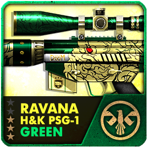 RAVANA GREEN H&K PSG-1 (7 Days)