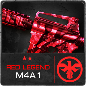 RED LEGEND M4A1 (Permanence)