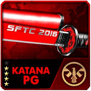 SFTC 2016 KATANA PG (7 Days)
